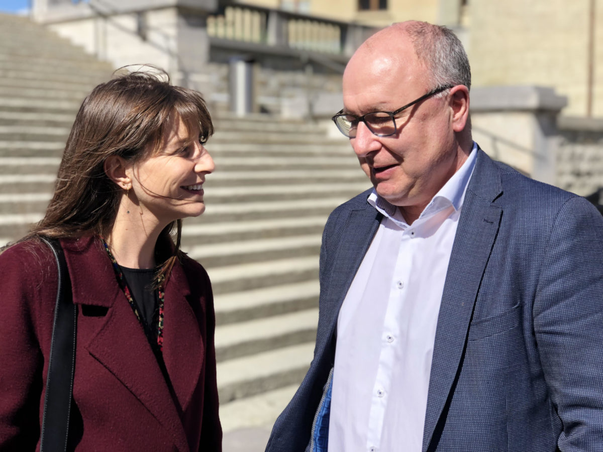Election VD 2019 – Rebecca Ruiz & Pierre-Yves Maillard