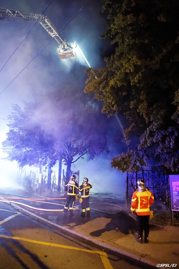 Incendie - Bois-Gentil (SPSL/Jaquerod)
