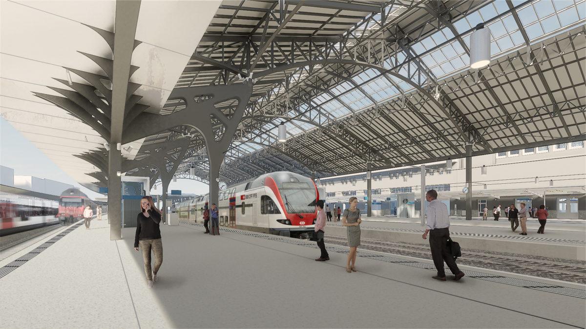 CFF_Quais-Marquise Historique_Gare de Lausanne