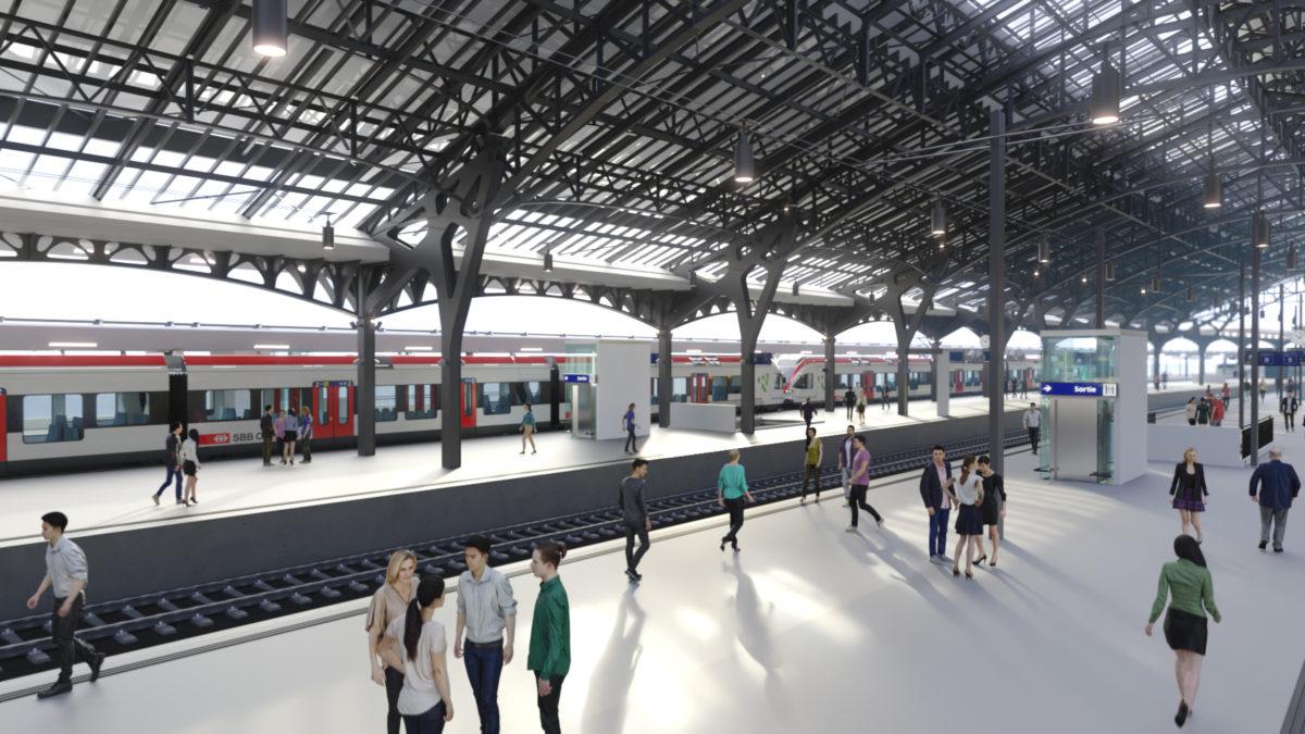 CFF_Quais_Gare de Lausanne