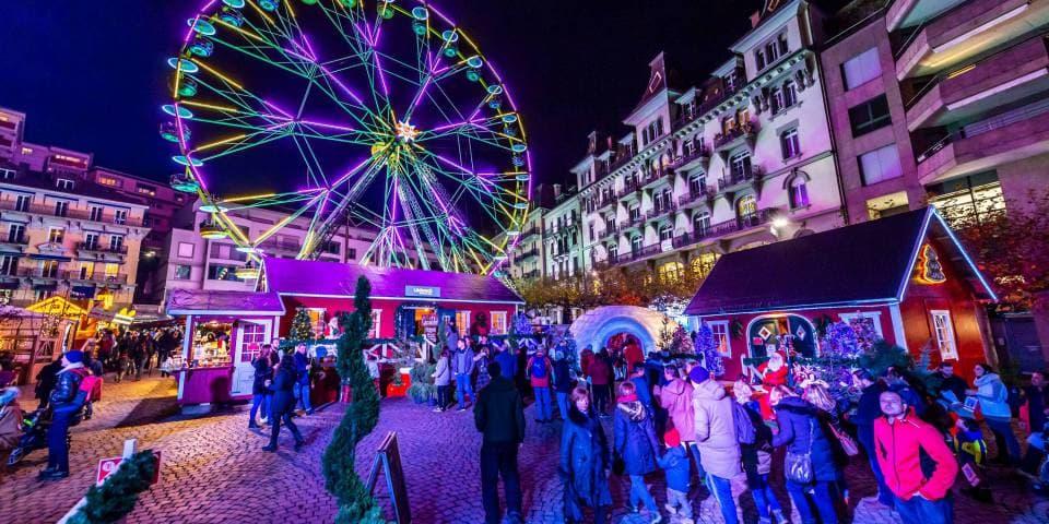 Marché De Noel Montreux Les 25 ans de Montreux Noël | LFM la radio