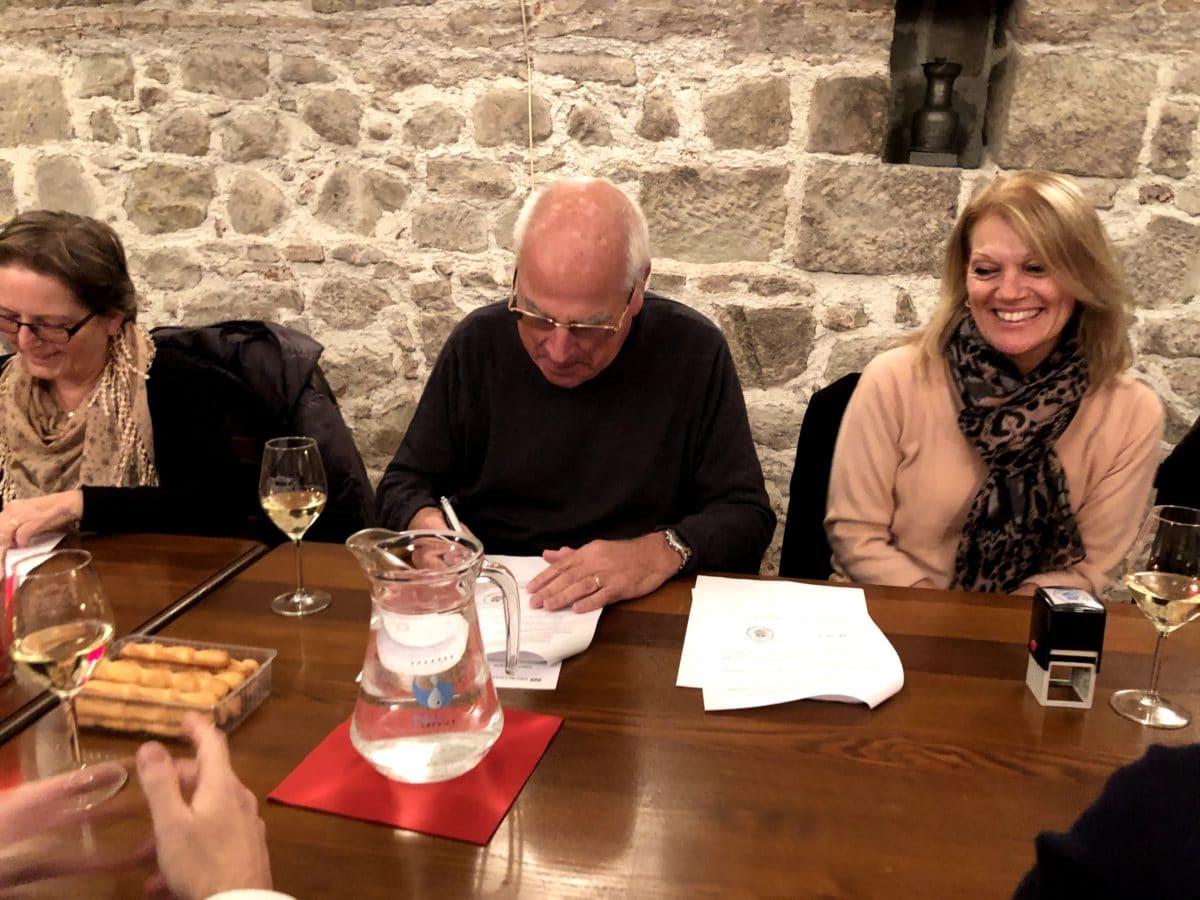 Signature accord - Lausanne/Romanel-sur-Morges