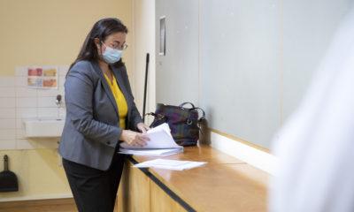 La Conseillère d'Etat Cesla Amarelle s'exprimait à propos de la rentrée scolaire.