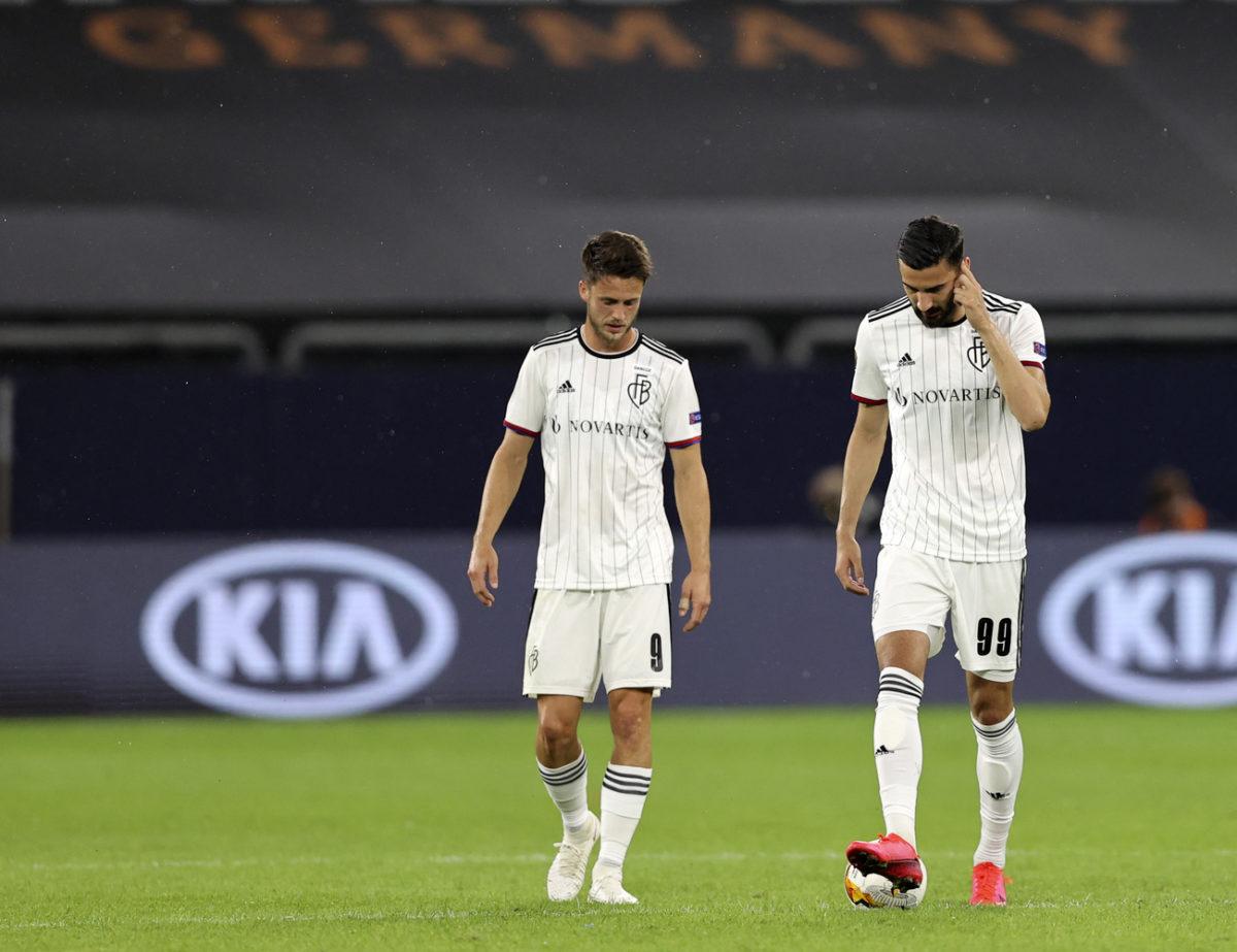 Le FC Bâle n'était pas dans un bon soir mardi.