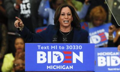 la sénatrice noire Kamala Harris a été choisie comme comme colistière par Joe Biden.