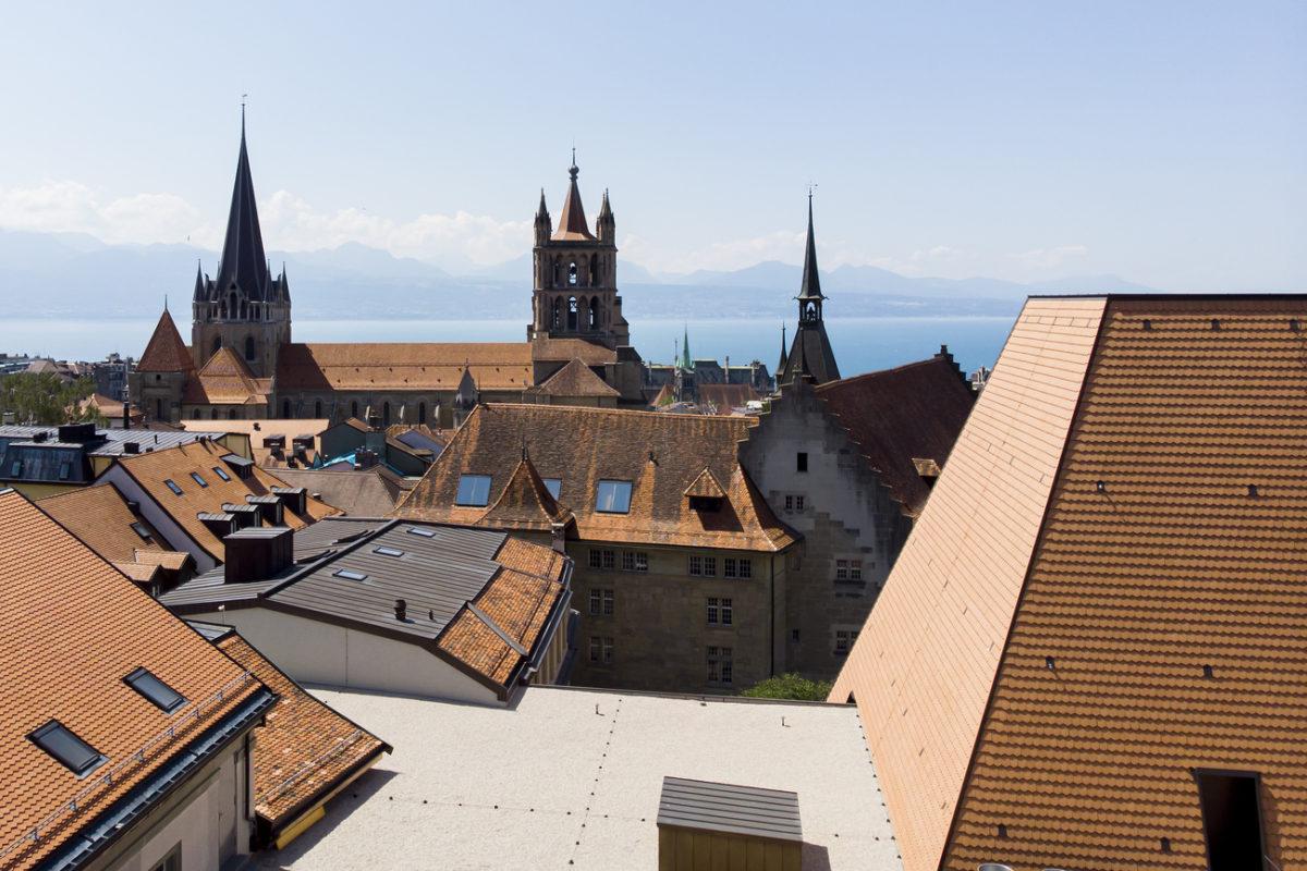 Le quartier de la Cité à Lausanne va devenir entièrement piéton.