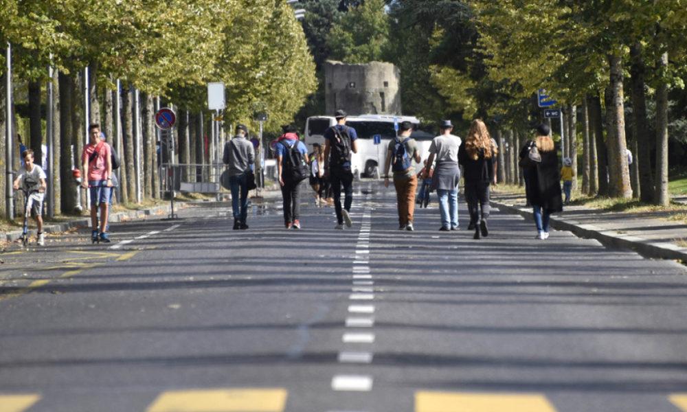 Semaine de la mobilité à Lausanne : douceur et bienveillance au menu
