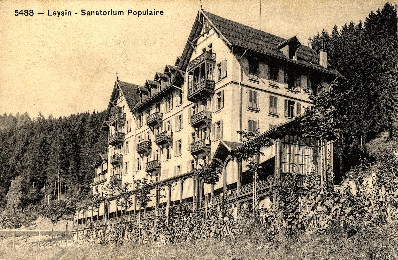 sanatorium populaire de Leysin